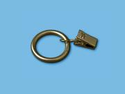 Кольцо с зажимом - для карниза штор образец