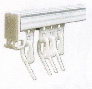 Колибри - карниз для легких штор с кордовым управлением на заказ шириной 180см