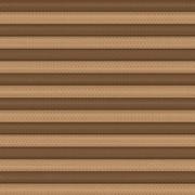 Корона кофейный ткань INTEGRA PLISSE шир. 50 см на выс. 130 см