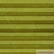 INTEGRA PLISSE шир. 50 см  выс. 130 см крепление в 15 мм штапик из ткани - КРАШ ПЕРЛАМУТР ФИСТАШКОВЫЙ