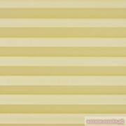 INTEGRA PLISSE шир. 50 см  выс. 130 см крепление в 15 мм штапик из ткани -КРЕП ПЕРЛАМУТР ЖЕЛТЫЙ
