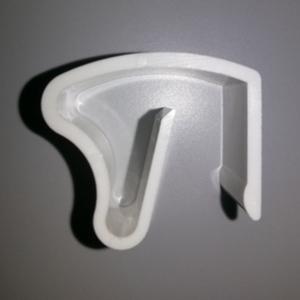 Кронштейн для ПВХ окна без сверления для горизонтальных жалюзи - цена за 1 шт.