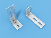 Кронштейн металлический 100 шт. - вынос 10,4 см для вертикальных жалюзи 89 мм