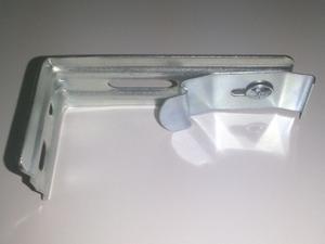 Кронштейн настенный и потолочный в сборе для вертикальных жалюзи 8,9 см