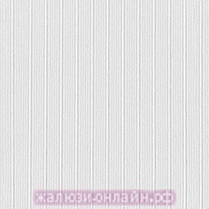 ЛАЙН 01 БЕЛЫЙ - Ламели из ткани без карниза - цена за 1 кв. метр с грузилами и цепочкой