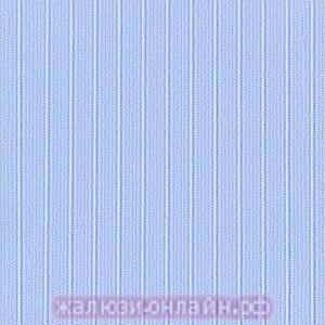 ЛАЙН 10 ГОЛУБОЙ - Ламели из ткани без карниза - цена за 1 кв. метр с грузилами и цепочкой