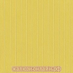 ЛАЙН 15 ЖЁЛТЫЙ - Ламели вертикальные из ткани без карниза - цена за 1 кв. метр с грузилами и цепочкой