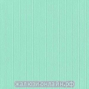 Жалюзи вертикальные тканевые ЛАЙН-37 БИРЮЗА - с карнизом и тканью - цена за 1 кв. метр включает всё