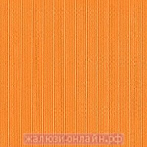 ЛАЙН 95 ОРАНЖЕВЫЙ - Ламели вертикальные из ткани без карниза - цена за 1 кв. метр с грузилами и цепочкой