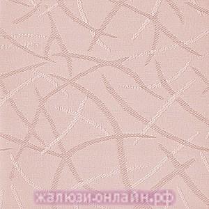 ЛЕТО 33 РОЗОВЫЙ - Ламели вертикальные из ткани без карниза - цена за 1 кв. метр с грузилами и цепочкой