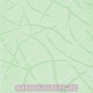ЛЕТО 93 ЗЕЛЁНЫЙ - Ламели вертикальные из ткани без карниза - цена за 1 кв. метр с грузилами и цепочкой