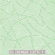 Вертикальные жалюзи купить на окна из ткани ЛЕТО-93 ЗЕЛЕНЫЙ