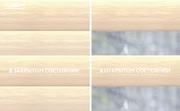 INTEGRA SLIM DUO - Рулонные шторы ЗЕБРА из ткани LIBRA КРЕМОВЫЙ - Цена за 1 пог. метр высоты
