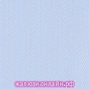 МАГНОЛИЯ 05 ГОЛУБОЙ - Ламели из ткани без карниза - цена за 1 кв. метр с грузилами и цепочкой