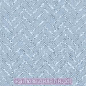 МАРАН 10 ГОЛУБОЙ - Ламели вертикальные из ткани без карниза - цена за 1 кв. метр с грузилами и цепочкой
