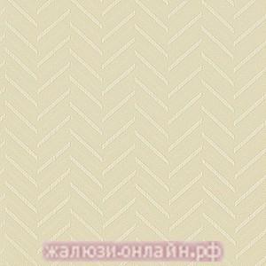 МАРАН 02 КРЕМОВЫЙ - Ламели вертикальные из ткани без карниза - цена за 1 кв. метр с грузилами и цепочкой