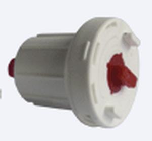 Ловолайт - Механизм без кронштейнов управления 32+ мм цепочный для 32 мм трубы для рулонных штор - цена за 1 комплект