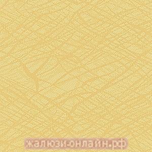 МИСТЕРИЯ 03 ЖЁЛТЫЙ - Ламели вертикальные из ткани без карниза - цена за 1 кв. метр с грузилами и цепочкой
