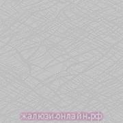 МИСТЕРИЯ 08 СЕРЫЙ - Ламели вертикальные из ткани без карниза - цена за 1 кв. метр с грузилами и цепочкой