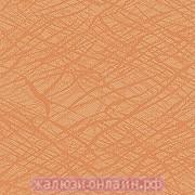 МИСТЕРИЯ 95 ОРАНЖЕВЫЙ - Ламели вертикальные из ткани без карниза - цена за 1 кв. метр с грузилами и цепочкой