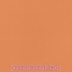ПОЛЮС М95 ОРАНЖЕВЫЙ - Ламели вертикальные из ткани без карниза - цена за 1 кв. метр с грузилами и цепочкой