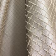 Римские шторы фото Портьерная ткань бежевая ромбы. Ширина - 280 см. Арт. PT2-14 - цена за 1 кв.м.