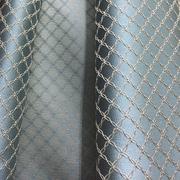 Римские шторы фото Портьерная ткань бирюзовая ромбы. Ширина - 280 см. Арт. PT2-201 - цена за 1 кв.м.