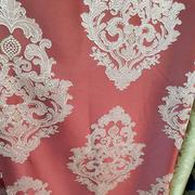 Римские шторы фото Портьерная ткань корона бордовая. Ширина - 280 см. Арт. KPT4-4 - цена за 1 кв.м.
