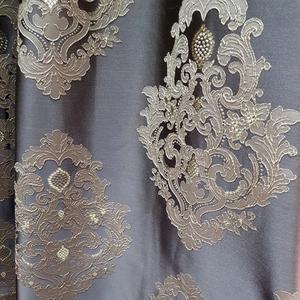 Римские шторы на окна Портьерная ткань классика мышиная. Ширина - 280 см. Арт. KPT7-202 - цена за 1 кв.м.