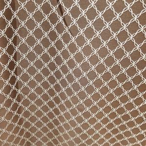 Римские шторы на кухню Портьерная ткань коричневая ромбы. Ширина - 280 см. Арт. PT2-10 - цена за 1 кв.м.