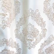 Римские шторы Портьерная ткань корона белая. Ширина - 280 см. Арт. KPT4-1 купить на окна - цена за 1 кв.м.