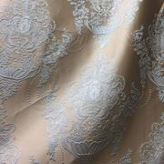 Римские шторы купить на окна - Портьерная ткань корона бирюзовая. Ширина - 280 см. Арт. PT3-201- цена за 1 кв.м.
