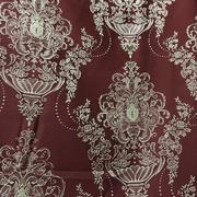 Римские шторы купить на окна - Портьерная ткань корона бордовая. Ширина - 280 см. Арт. PT3-4 - цена за 1 кв.м.