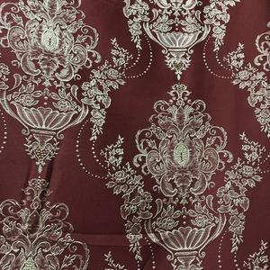Римские шторы Портьерная ткань корона бордовая. Ширина - 280 см. Арт. KPT4-4 купить на окна - цена за 1 кв.м.