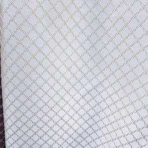 Римские шторы на кухню Портьерная ткань молочная ромбы. Ширина - 280 см. Арт.KPT2-203 - цена за 1 кв.м.