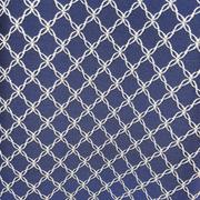Римские шторы на кухню Портьерная ткань синяя ромбы. Ширина - 280 см. Арт. PT2-208 - цена за 1 кв.м.