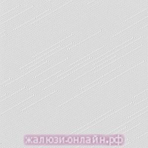 РАДУГА 01 БЕЛЫЙ - Ламели вертикальные из ткани без карниза - цена за 1 кв. метр с грузилами и цепочкой