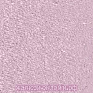 РАДУГА 33 РОЗОВЫЙ - Ламели вертикальные из ткани без карниза - цена за 1 кв. метр с грузилами и цепочкой