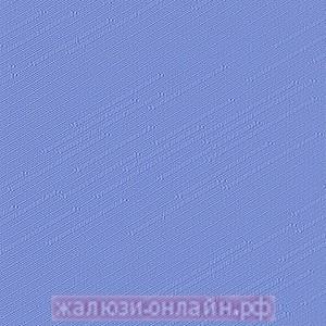 РАДУГА 94 СИНИЙ - Ламели вертикальные из ткани без карниза - цена за 1 кв. метр с грузилами и цепочкой
