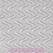 РЕГАЛ 08 СЕРЫЙ - Ламели вертикальные из ткани без карниза - цена за 1 кв. метр с грузилами и цепочкой