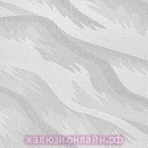 РИО 01 БЕЛЫЙ - Ламели вертикальные из ткани без карниза - цена за 1 кв. метр с грузилами и цепочкой
