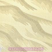 РИО 02 КРЕМОВЫЙ - Ламели вертикальные из ткани без карниза - цена за 1 кв. метр с грузилами и цепочкой
