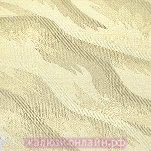 РИО 02 КРЕМОВЫЙ - Вертикальные жалюзи купить на окна с карнизом и тканью - цена за 1 кв. метр включает всё