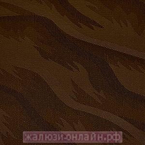РИО 30 ШОКОЛАД - Ламели вертикальные из ткани без карниза - цена за 1 кв. метр с грузилами и цепочкой