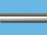 Сатин гладкий - Цвет металлической трубы для декоративного карниза