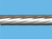 Сатин твист - Цвет металлической трубы для декоративного карниза