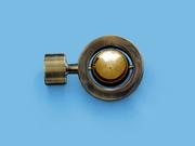 САТУРН АНТИК ЗОЛОТО - наконечник для металлического карниза - выбор формы и цвета