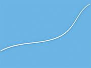Шнур белый 2 мм для горизонтальных жалюзи - цена за 1 пог. метр.