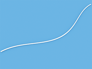 Шнур белый 1,2 мм для горизонтальных жалюзи - цена за 1 пог. метр.