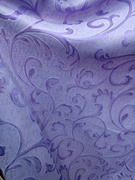 Римские шторы купить на окна - Ткань для портьер Цветы сиреневые. Арт. DJ-11R  - цена за 1 кв.м.